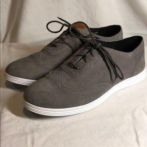 Wingtip oxford sneaker shoes